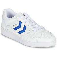 Boty Nízké tenisky Hummel HB TEAM Bílá / Modrá