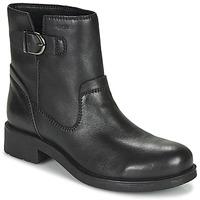Boty Ženy Kotníkové boty Geox RAWELLE Černá