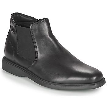Boty Muži Kotníkové boty Geox BRAYDEN 2FIT ABX Černá