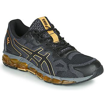 Boty Muži Nízké tenisky Asics GEL-QUANTUM 360 6 Černá / Zlatá