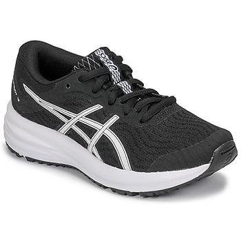 Boty Děti Běžecké / Krosové boty Asics PATRIOT 12 GS Černá / Bílá