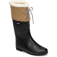 Boty Ženy Zimní boty Aigle POLKA GIBOULEE Tmavě modrá / Béžová