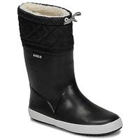 Boty Děti Zimní boty Aigle GIBOULEE Černá / Bílá