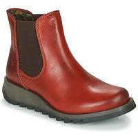 Boty Ženy Kotníkové boty Fly London SALV Červená