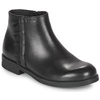 Boty Dívčí Kotníkové boty Geox AGGATA Černá