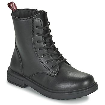 Boty Dívčí Kotníkové boty Geox ECLAIR Černá