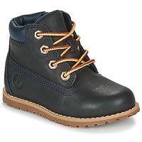 Boty Děti Kotníkové boty Timberland Pokey Pine 6In Boot with Modrá