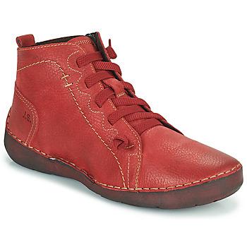 Boty Ženy Kotníkové boty Josef Seibel FERGEY 86 Červená
