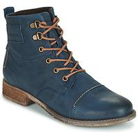 Boty Ženy Kotníkové boty Josef Seibel SIENNA 17 Tmavě modrá