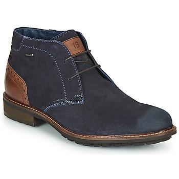 Boty Muži Kotníkové boty Josef Seibel JASPER 51 Tmavě modrá