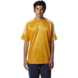 Textil Muži Trička s krátkým rukávem adidas Originals Originals Jacquard 3 Stripes Tshirt Žluté