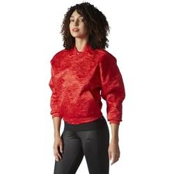 Textil Ženy Bundy adidas Originals Originals Tracktop Bomber Červené