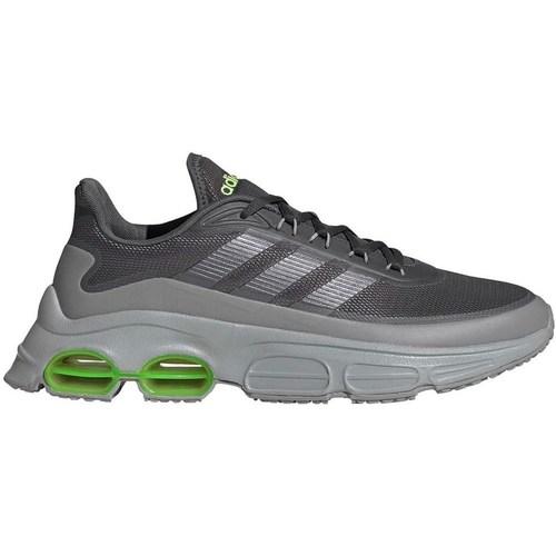 Boty Muži Běžecké / Krosové boty adidas Originals Quadcube Šedé,Zelené