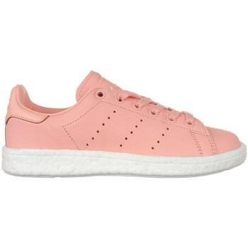 Boty Ženy Nízké tenisky adidas Originals Stan Smith Boost Růžové