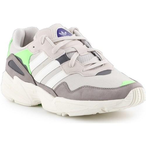 Boty Muži Nízké tenisky adidas Originals YUNG96 Šedé,Béžové