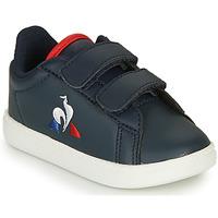 Boty Děti Nízké tenisky Le Coq Sportif COURTSET INF Tmavě modrá