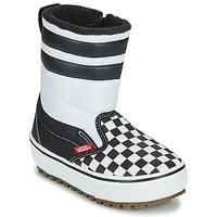Boty Děti Zimní boty Vans YT SLIP-ON SNOW BOOT MTE Černá / Bílá