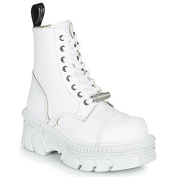 Boty Kotníkové boty New Rock M-MILI083CM-C56 Bílá