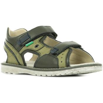 Boty Děti Sportovní sandály Kickers Pepper Zelená