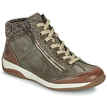 Boty Ženy Kotníkové boty Rieker L5223-24 Hnědá