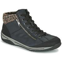 Boty Ženy Kotníkové boty Rieker L5223-00 Modrá