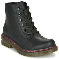 Boty Ženy Kotníkové boty Rieker 76240-00 Černá