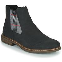 Boty Ženy Kotníkové boty Rieker 71072-02 Černá