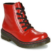 Boty Ženy Kotníkové boty Rieker 76240-33 Červená