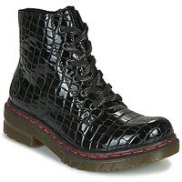 Boty Ženy Kotníkové boty Rieker 76246-00 Černá