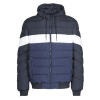 Textil Muži Prošívané bundy Urban Classics TB3818 Modrá / Tmavě modrá