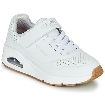 Boty Děti Nízké tenisky Skechers UNO Bílá