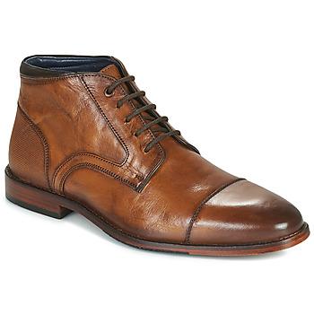 Boty Muži Kotníkové boty Azzaro TELLIS Zlatohnědá