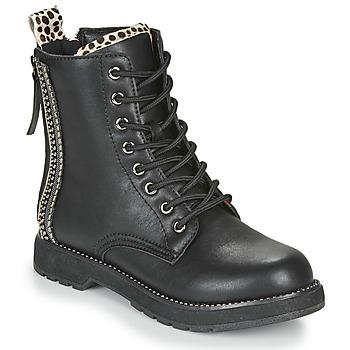 Boty Ženy Kotníkové boty Café Noir JAYTE Černá