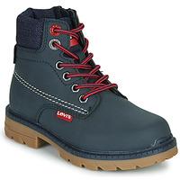 Boty Děti Kotníkové boty Levi's NEW FORREST Tmavě modrá