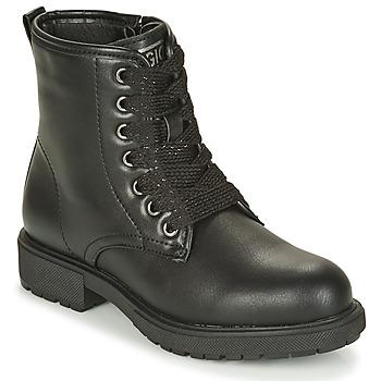Boty Dívčí Kotníkové boty Gioseppo YELETS Černá