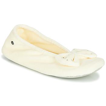 Boty Ženy Papuče Isotoner 95991 Bílá
