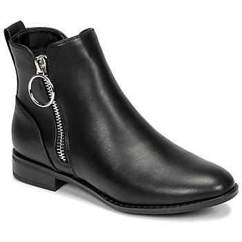 Boty Ženy Kotníkové boty Only BOBBY 22 PU ZIP BOOT Černá