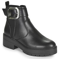 Boty Ženy Kotníkové boty Only BRANKA-5 PU BUCKLE BOOT Černá