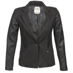 Textil Ženy Saka / Blejzry Kaporal SOMA Černá