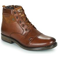 Boty Muži Kotníkové boty Redskins NISSA Zlatohnědá