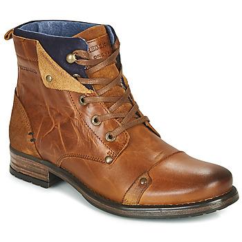 Boty Chlapecké Kotníkové boty Redskins YEDES CADET Zlatohnědá