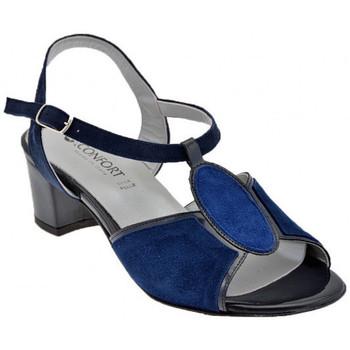 Boty Ženy Sandály Confort  Modrá