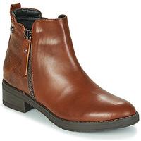 Boty Ženy Kotníkové boty Xti 44721 Hnědá