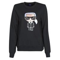 Textil Ženy Mikiny Karl Lagerfeld IKONIK KARL SWEATSHIRT Černá