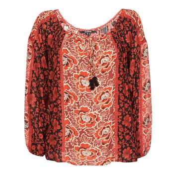 Textil Ženy Halenky / Blůzy Desigual ROSAL Červená
