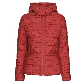 Textil Ženy Prošívané bundy Desigual NATASHA Červená