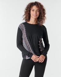Textil Ženy Trička s dlouhými rukávy Desigual MARSELLA Tmavě modrá