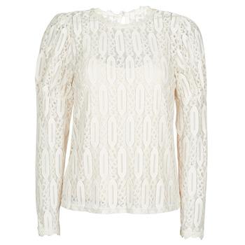 Textil Ženy Trička s krátkým rukávem Cream VIVI LS TSHIRT Béžová