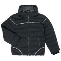 Textil Chlapecké Prošívané bundy Deeluxe HOLYSON Černá