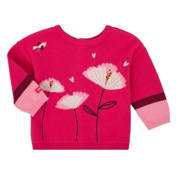 Textil Dívčí Svetry / Svetry se zapínáním Catimini CR18033-35 Růžová